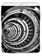 Time Tunnel Spiral Staircase In Sao Paulo Brazil Duvet Cover