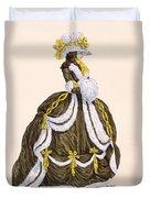 Caramel Dress For Presentation Duvet Cover