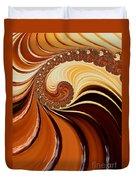 Caramel  Duvet Cover by Heidi Smith