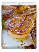 Caramelized Balsamic Onions Duvet Cover