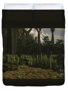 Carboniferous Forest Of The Eastern Duvet Cover