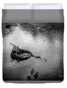Carcass In The River Duvet Cover