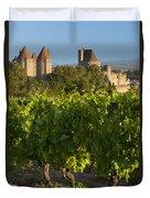 Carcassonne Morning Duvet Cover