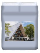 Cardboard Cathedral Duvet Cover