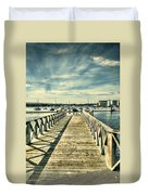 Cardiff Bay Wetlands 2 Duvet Cover
