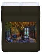 Cardiff Castle Apartment Dining Room Duvet Cover