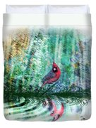 Cardinal - Featured In Comfortable Art-wildlife-and Nature Wildlife Groups Duvet Cover
