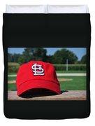 Cardinals In Iowa Duvet Cover
