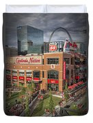 Cardinals Nation Ballpark Village Dsc06176 Duvet Cover