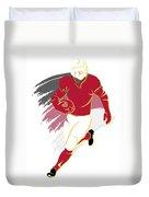 Cardinals Shadow Player2 Duvet Cover