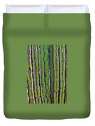 Cardon Cactus Texture. Duvet Cover