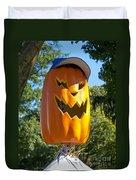 Carefree Scarecrow Duvet Cover