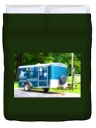 Cargo Trailer Duvet Cover