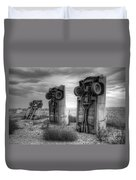 Carhenge Automobile Art 3 Duvet Cover