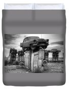 Carhenge Automobile Art 4 Duvet Cover