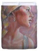 Caribbean Beauty Duvet Cover