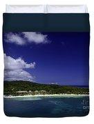 Caribbean Breeze Nine Duvet Cover