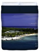 Caribbean Breeze Ten Duvet Cover