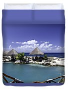 Caribbean Breeze Three Duvet Cover