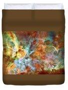 Carina Nebula - Interpretation 1 Duvet Cover