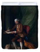 Carl Friedrich Abel, C.1777 Duvet Cover
