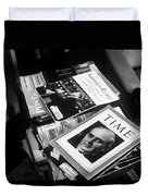 Carl Sandburg's Magazines  Duvet Cover