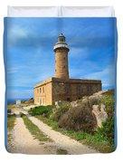Carloforte Lighthouse Duvet Cover