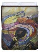 Carlsbad Flower Fields #2 Duvet Cover