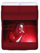 Carly And The Concert Lighting Duvet Cover