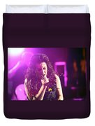 Carly On Stage Duvet Cover