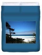 Carmel Beach California Usa Duvet Cover