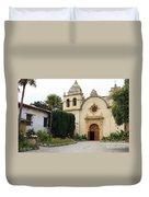 Carmel Mission Church Duvet Cover