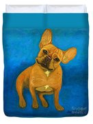 Carmen French Bulldog Duvet Cover