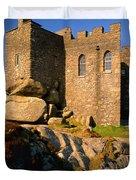 Carn Brea Castle Duvet Cover