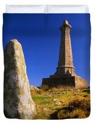 Carn Brea Memorial Duvet Cover