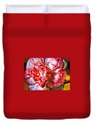 Carnation Watercolor Duvet Cover