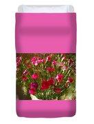 Carnations Duvet Cover