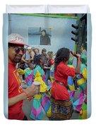 Carnival Dancing Duvet Cover