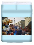 Carnival Day Out Family Social Occasion Duvet Cover