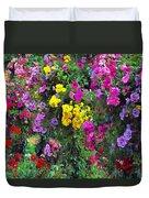 Carnival Flowers Duvet Cover