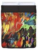 Carnival In Spain Duvet Cover