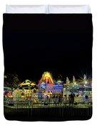 Carnival Life At Night 01 Duvet Cover