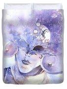 Carnival Mask Duvet Cover