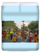 Carnival Outdoor Celebrations Social Occasion  Duvet Cover