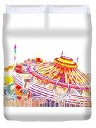 Carnival Sombrero Duvet Cover