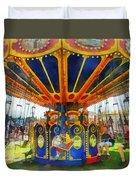 Carnival - Super Swing Ride Duvet Cover