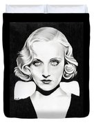 Carole Lombard Duvet Cover