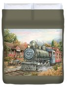 Carolina Morning Train Duvet Cover