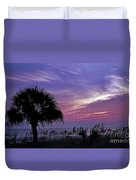 Carolina Sunrise Duvet Cover