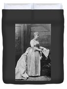 Caroline Lavinia Harrison (1832-1892) Duvet Cover